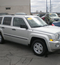 jeep patriot 2008 silver suv sport gasoline 4 cylinders 4 wheel drive automatic 13212