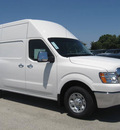 nissan n v 3500 2012 white van sv gasoline 8 cylinders rear wheel drive automatic 33884