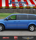 dodge grand caravan 2008 blue van sxt gasoline 6 cylinders front wheel drive 6 speed automatic 44024