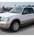 ford expedition 2011 white suv xlt rad flex fuel 8 cylinders 2 wheel drive 6 speed automatic 77388