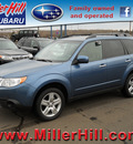 subaru forester 2010 blue suv 2 5x premium gasoline 4 cylinders all whee drive autostick 55811