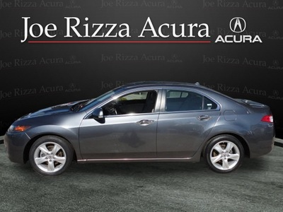 acura tsx 2009 dk  gray sedan gasoline 4 cylinders front wheel drive automatic with overdrive 60462