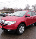 ford edge 2010 red suv limited gasoline 6 cylinders all whee drive 6 speed automatic 55321