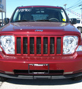 jeep liberty 2008 dk  red suv sport gasoline 6 cylinders 4 wheel drive automatic 45840