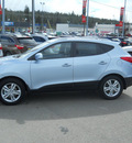 hyundai tucson 2011 aurora blue suv gls gasoline 4 cylinders all whee drive 6 speed automatic 99208