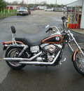 harley davidson fxdwg 2008 gold wide glide 2 cylinders 6 speed 45342