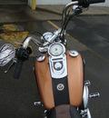 harley davidson fxdwg 2008 gold wide glide 2 cylinders 6 speed 45342