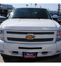 chevrolet silverado 1500 2011 white lt flex fuel 8 cylinders 4 wheel drive automatic with overdrive 77090