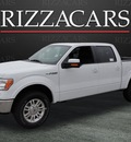 ford f 150 2011 white lariat 4x4 flex fuel 8 cylinders 4 wheel drive automatic with overdrive 60546