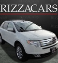 ford edge 2010 white suv sel gasoline 6 cylinders front wheel drive automatic with overdrive 60546