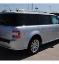 ford flex 2011 silver sel gasoline 6 cylinders front wheel drive automatic 77388