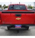 chevrolet silverado 1500 2011 red lt flex fuel 8 cylinders 2 wheel drive 6 spd auto 77090