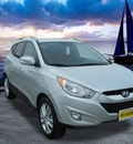 hyundai tucson 2011 diamond silver suv limited gasoline 4 cylinders all whee drive 6 speed automatic 99208