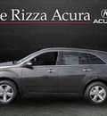 acura mdx 2011 dk  gray suv tech awd gasoline 6 cylinders all whee drive automatic with overdrive 60462