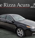acura tl 2012 black sedan advance gasoline 6 cylinders front wheel drive automatic with overdrive 60462