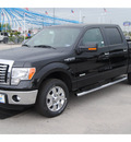 ford f 150 2011 black xlt gasoline 6 cylinders 2 wheel drive automatic 77388