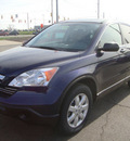 honda cr v 2008 blue suv ex gasoline 4 cylinders all whee drive automatic 45342