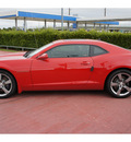 chevrolet camaro 2011 red coupe ss gasoline 8 cylinders rear wheel drive automatic 77090