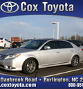 toyota avalon 2011 silver sedan avalon gasoline 6 cylinders front wheel drive automatic 27215