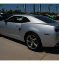 chevrolet camaro 2011 silver coupe ss gasoline 8 cylinders rear wheel drive automatic 77090