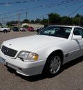 mercedes benz sl class 1995 white sl500 gasoline v8 rear wheel drive automatic 55321