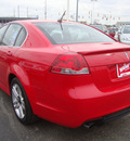 pontiac g8 2008 red sedan g8 gasoline 6 cylinders rear wheel drive automatic 45342