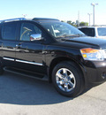 nissan armada 2011 espresso black suv platinum flex fuel 8 cylinders 2 wheel drive automatic 33884