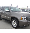 chevrolet tahoe 2011 brown suv ltz nav rear camera dvd flex fuel 8 cylinders 2 wheel drive automatic 77090