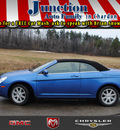 chrysler sebring 2008 blue touring flex fuel 6 cylinders front wheel drive 4 speed automatic 44024