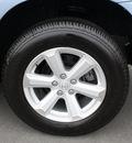 toyota highlander 2008 lt  blue suv base gasoline 6 cylinders front wheel drive automatic 27215