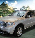 dodge durango 2011 silver suv citadel gasoline 8 cylinders all whee drive 5 speed automatic 99212