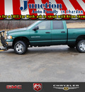 dodge ram pickup 2500 2004 green slt gasoline 8 cylinders 4 wheel drive not specified 44024
