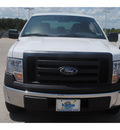 ford f 150 2011 white pickup truck xl flex fuel 6 cylinders 2 wheel drive 6 speed automatic 77388