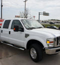 ford f 350 super duty 2008 white lariat diesel 8 cylinders 4 wheel drive automatic 76205