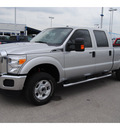 ford f 250 super duty 2011 silver xlt flex fuel 8 cylinders 4 wheel drive shiftable automatic 77388