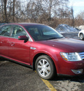ford taurus 2008 maroon sedan sel gasoline 6 cylinders front wheel drive automatic with overdrive 13212