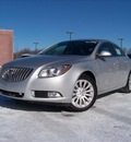 buick regal 2011 silver sedan cxl turbo gasoline 4 cylinders front wheel drive not specified 44024