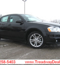 dodge avenger 2011 black sedan mainstreet flex fuel 6 cylinders front wheel drive automatic 45840