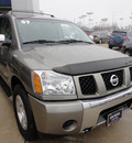 nissan armada 2007 gray suv se 4x4 flex fuel 8 cylinders 4 wheel drive automatic with overdrive 60462
