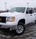 gmc sierra 3500hd 2011 white work truck gasoline 8 cylinders 4 wheel drive not specified 44024