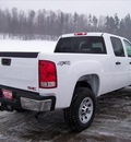 gmc sierra 3500hd 2011 white work truck gasoline 8 cylinders 4 wheel drive not specified 44024