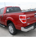 ford f 150 2011 red candy metallic xlt flex fuel v8 2 wheel drive 6 speed automatic 77388