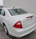 ford fusion 2011 white sedan se gasoline 4 cylinders front wheel drive automatic with overdrive 60546
