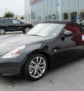 nissan 370z 2011 black roadster gasoline 6 cylinders rear wheel drive automatic 33884