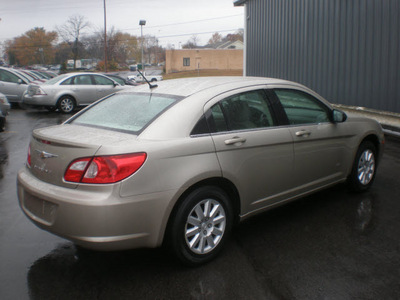 chrysler sebring 2008 tan sedan lx gasoline 4 cylinders front wheel drive automatic 13212