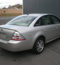 ford taurus 2008 silver sedan sel gasoline 6 cylinders front wheel drive automatic with overdrive 13212