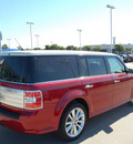 ford flex 2011 red wagon limited gasoline 6 cylinders front wheel drive automatic with overdrive 76205