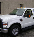 ford f 350 2010 white super duty xl diesel 8 cylinders 2 wheel drive automatic with overdrive 60546