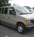 ford e 350 2006 gold van super duty gasoline 10 cylinders rear wheel drive automatic with overdrive 13212