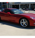 chevrolet corvette 2011 dk  red coupe gasoline 8 cylinders rear wheel drive automatic 77090